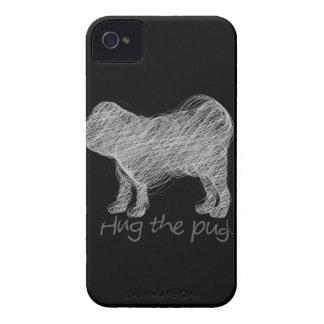 Hug the pug! iPhone 4 cover