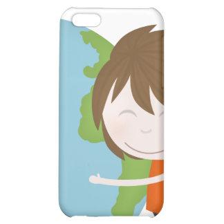 Hug the world iPhone 5C covers