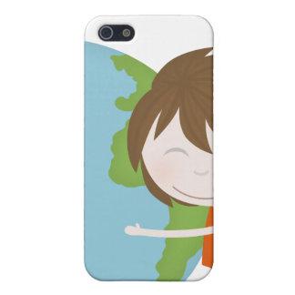 Hug the world iPhone 5 cases