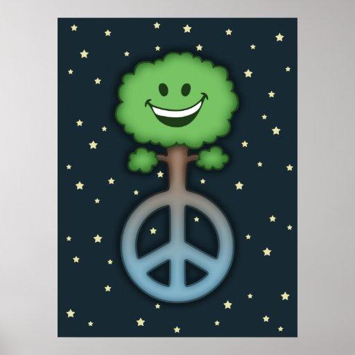 hug-tree-peace-LG Posters