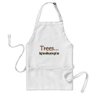 Hug Trees Adult Apron