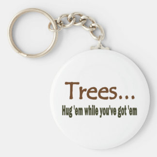 Hug Trees Keychains