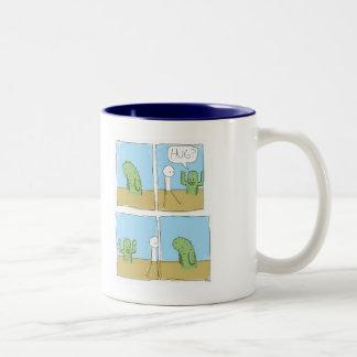 Hug Two-Tone Coffee Mug