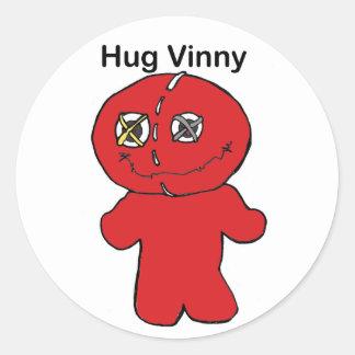 Hug Vinny Sticker
