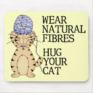 Hug Your Cat Mouse Pad