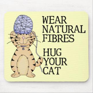 Hug Your Cat Mouse Mats