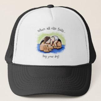Hug Your Dog Trucker Hat