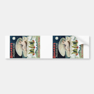 Hugard's ~ Fascinating Illusion Vintage Magic Act Bumper Stickers