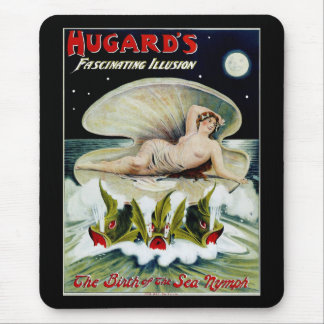 Hugards ~ The Birth of the Sea Nymph Mouse Pad