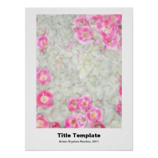 Huge 28 x 36 Poster Template