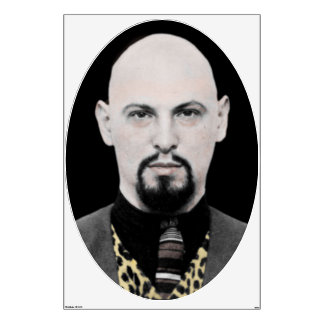 HUGE 6' LaVey Wall Decal