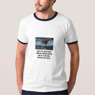 huge air center chute, Valley Mill Kayak School... T-Shirt