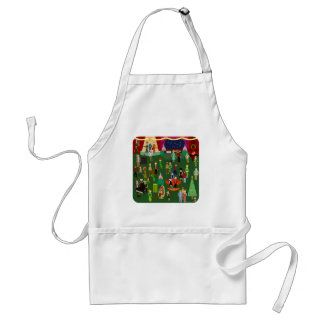 Huge and Happenin Holiday Party Adult Apron