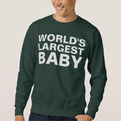 HUGE BABY PULLOVER SWEATSHIRTS
