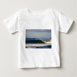 Huge beach break surfing wave tee shirt