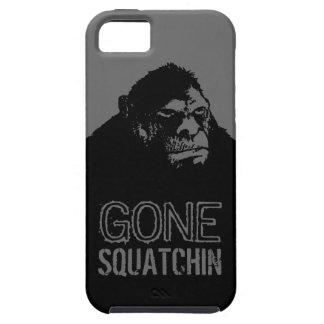 Huge Bigfoot Grunge GONE SQUATCHIN iPhone 5 Covers