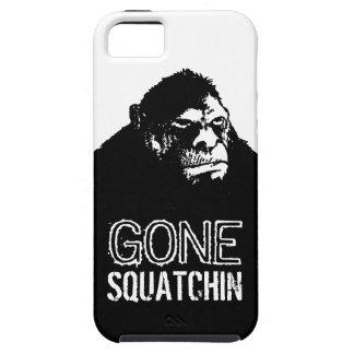 Huge Bigfoot Grunge GONE SQUATCHIN iPhone 5 Cover