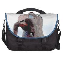 Huge Bird With Worm In Beak Computer Bag at Zazzle