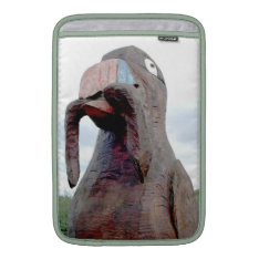 Huge Bird With Worm In Beak Sleeve For Macbook Air at Zazzle