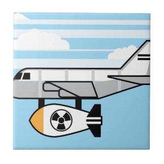 Huge Bomb Cartoon Ceramic Tile
