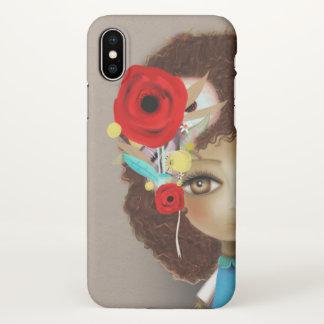 Huge brown eyes doll 2018 iPhone x case