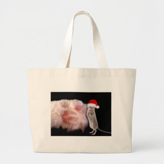 Huge Cat Paw Little Christmas Mouse Bag