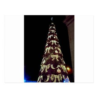 Huge Christmas Tree Postcard