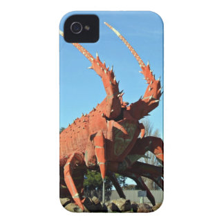Huge crab Statue in grassy ground iPhone 4 Cover