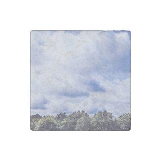 Huge cumulonimbus skyscape stone magnet