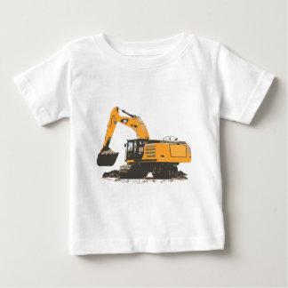 Huge Dirt Excavator Baby T-Shirt