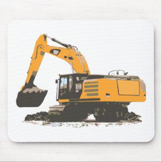Huge Dirt Excavator Mouse Pad