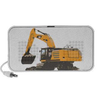 Huge Dirt Excavator iPhone Speakers
