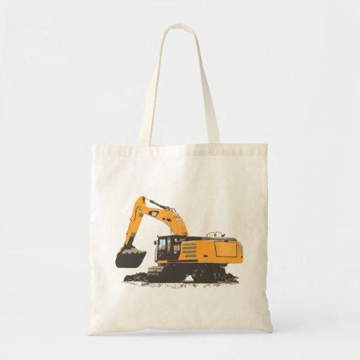 Huge Dirt Excavator Tote Bag