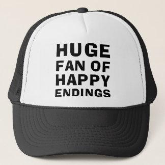 Huge Fan Happy Trucker Hat