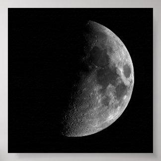 'Huge' Half Moon Print