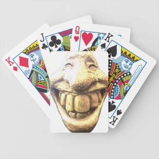 Huge Happy Face Bicycle Playing Cards