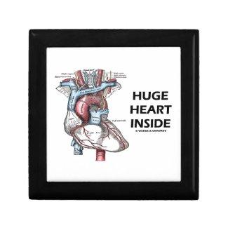 Huge Heart Inside (Anatomical Heart) Keepsake Box