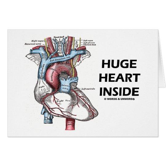 Huge Heart Inside Card