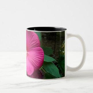 Huge Hybiscus Two-Tone Coffee Mug