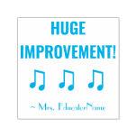 "[ Thumbnail: ""Huge Improvement!"" Feedback Rubber Stamp ]"