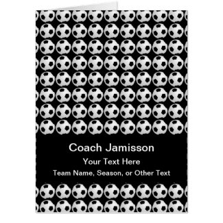 HUGE JUMBO Soccer Coach Thank You from Team