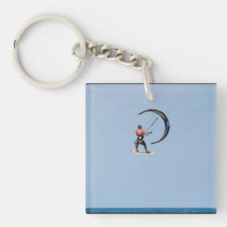 Huge Kitesurfing Air Single-Sided Square Acrylic Keychain