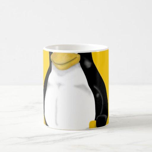 HUGE LINUX TUX CLASSIC WHITE COFFEE MUG