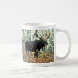 Huge Moose Classic White Coffee Mug