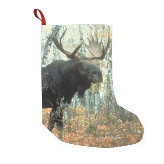 Huge Moose Small Christmas Stocking