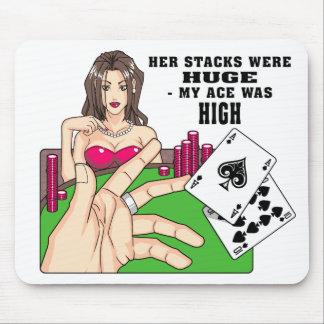 Huge Poker Stacks Mousepads