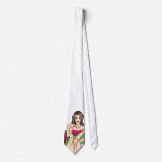 Huge Poker Stacks Neck Tie