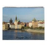 Huge Prague 2016 Calendar