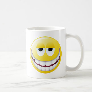 Huge Smile Smiley Face Coffee Mug