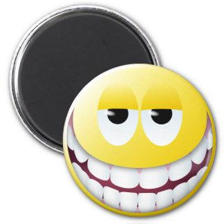 Huge Smile Smiley Face Magnet